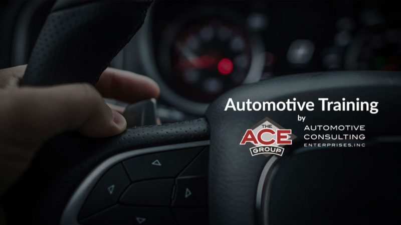 Auto Training by The ACE Group